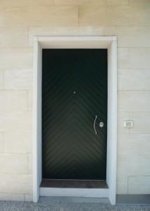 Pannello esterno in alluminio mod. Spiga KI RAL P 7100